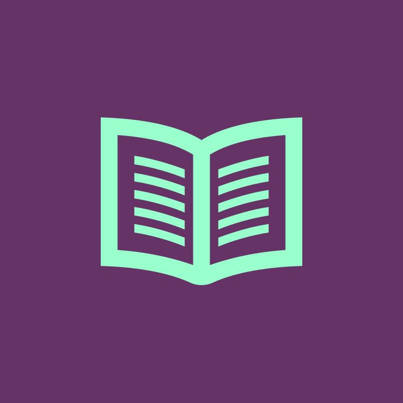 Icon for ukulele magazines and books.